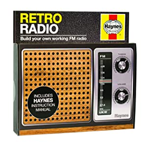Haynes Retro Radio Kit | Build Your Own Working FM Radio