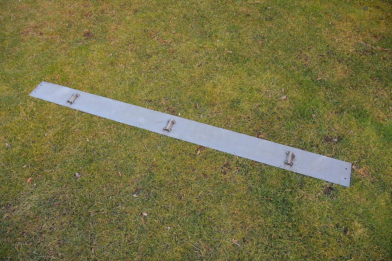 Rasenkanten Cortenstahl 100 cm x 15 cm - 6er Set