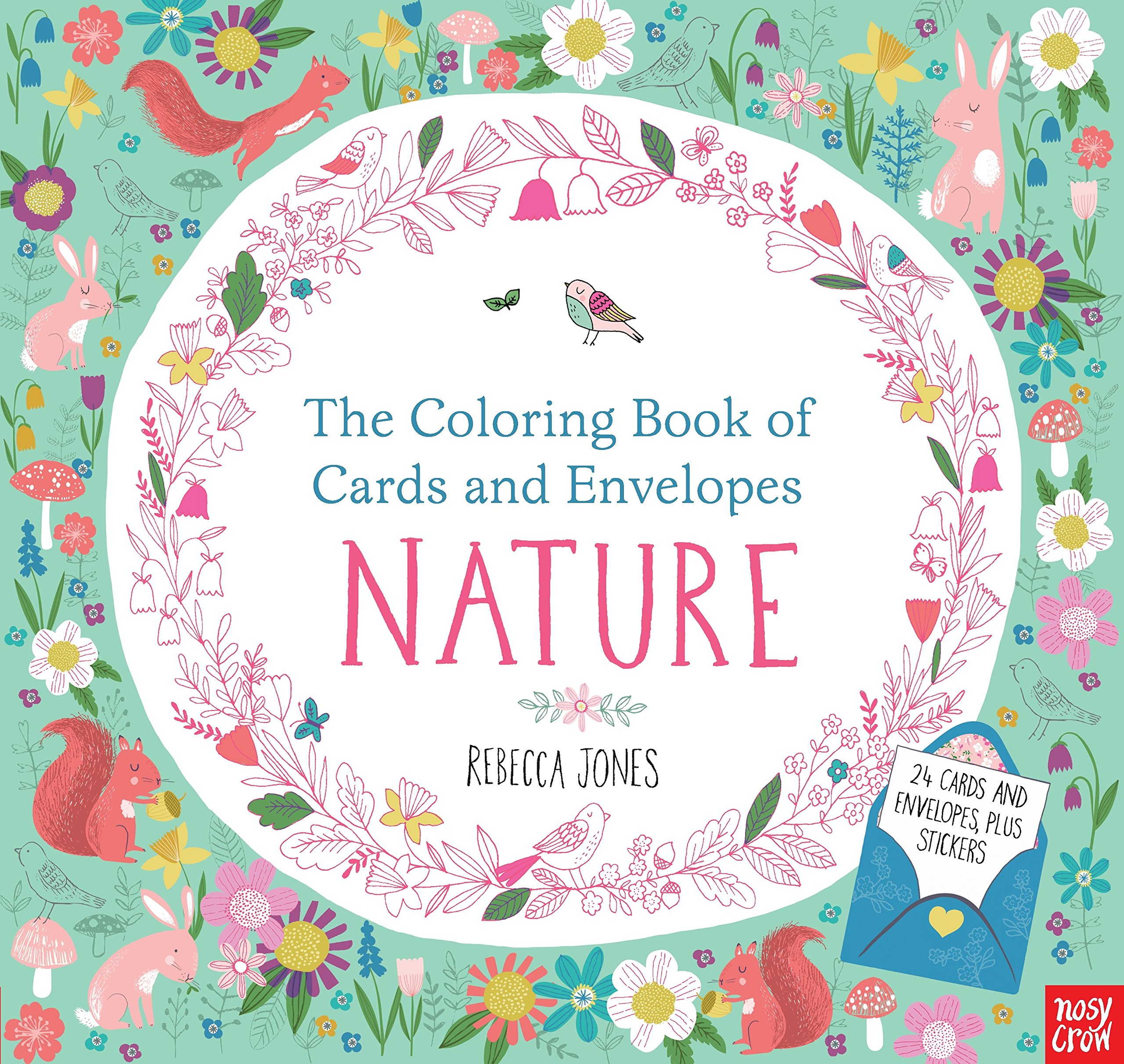 Coloring Book Cards Envelopes Nature product image