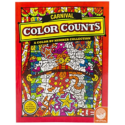 Color Counts: Carnival: Toys & Games [5Bkhe0604301]