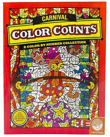 amazon com color counts carnival toys games