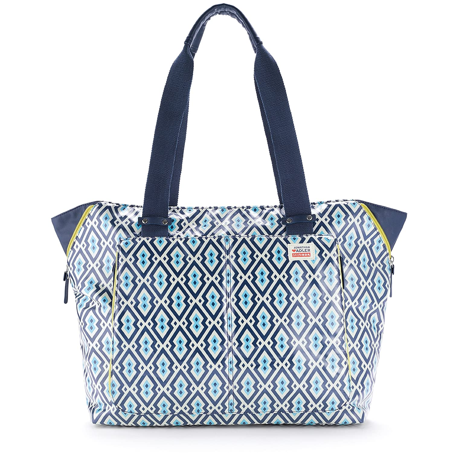 Skip Hop Jonathan Adler Light and Luxe Diaper Tote, Syrie (Discontinued by Manufacturer)