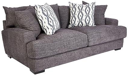 Amazon.com: Franklin Furniture Journey Sofa, Large, Graphite ...