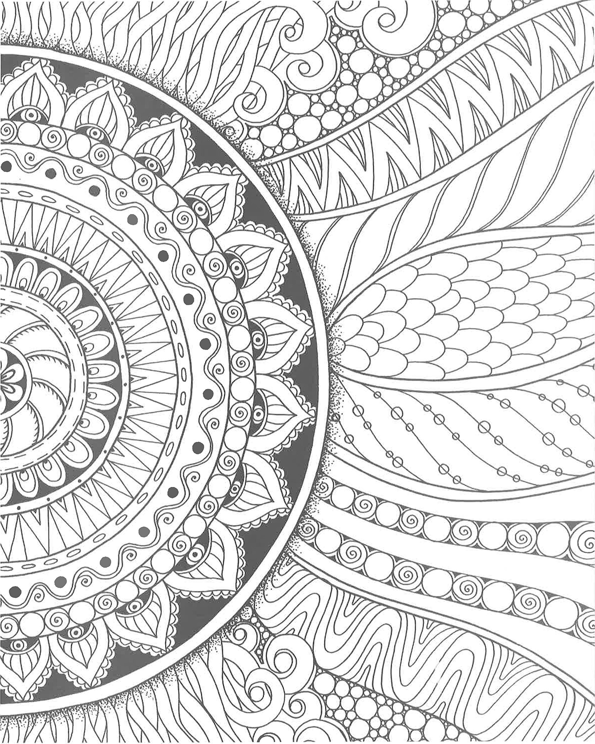 Amazon Com Zendoodle Coloring Creative Sensations Hypnotic