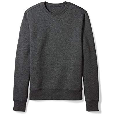 Essentials Men's Crewneck Fleece Sweatshirt: Clothing