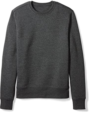 f6cd49f7ea5a Amazon Essentials Men s Crewneck Fleece Sweatshirt