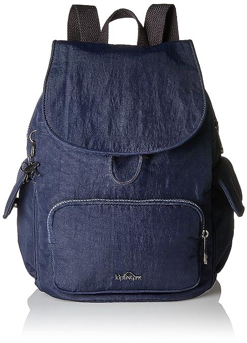 acb9ad094 Kipling - City Pack S, Mochilas Mujer, Blau (Deepest Blue), 27x33 ...