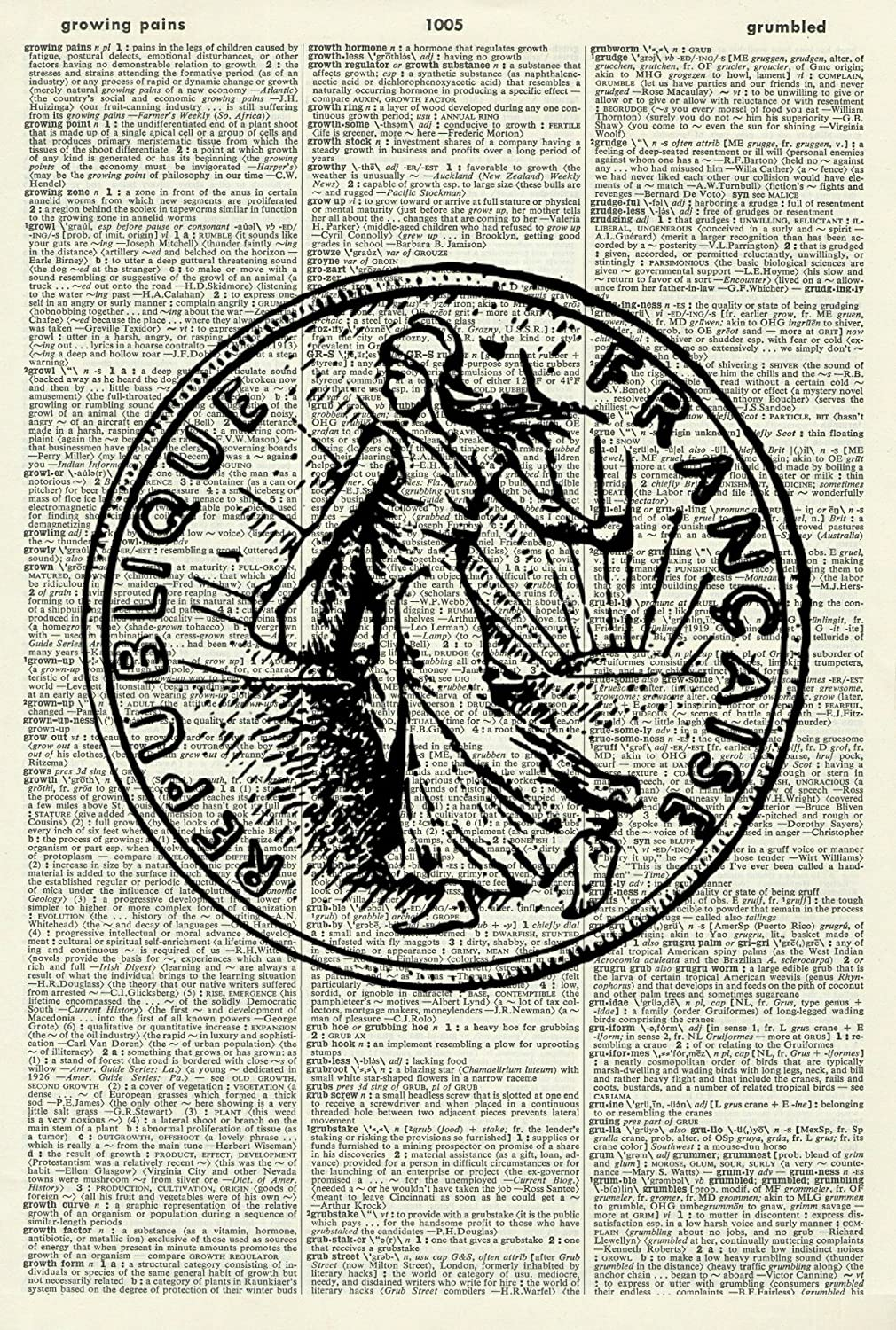 Amazon com: FRENCH COIN ART PRINT - FRANC ART PRINT - COIN