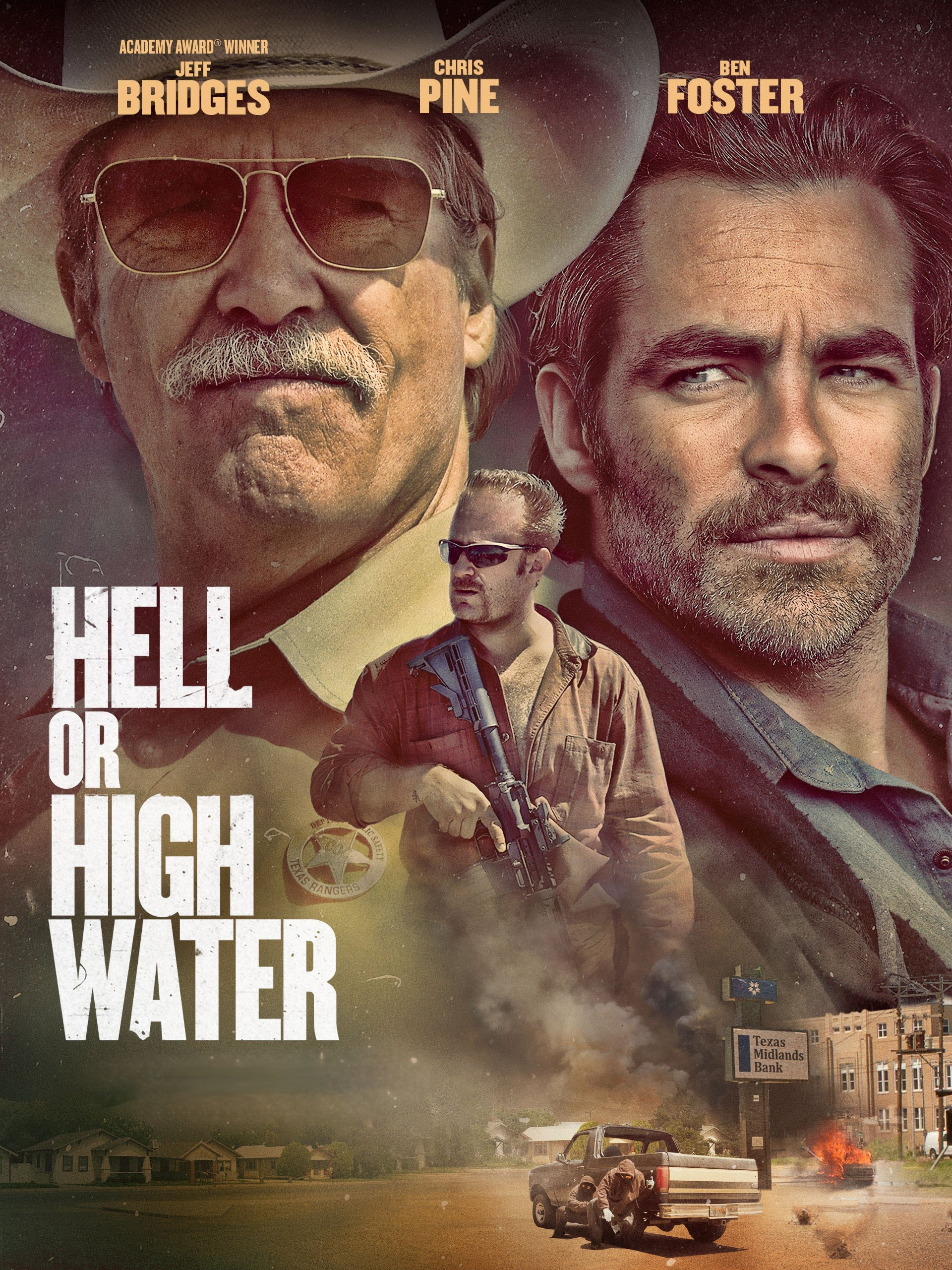 Amazon.com: Hell or High Water: Jeff Bridges, Chris Pine, Ben ...
