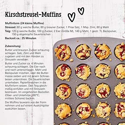 Mini Muffinform für 24 Muffins | RBV Birkmann