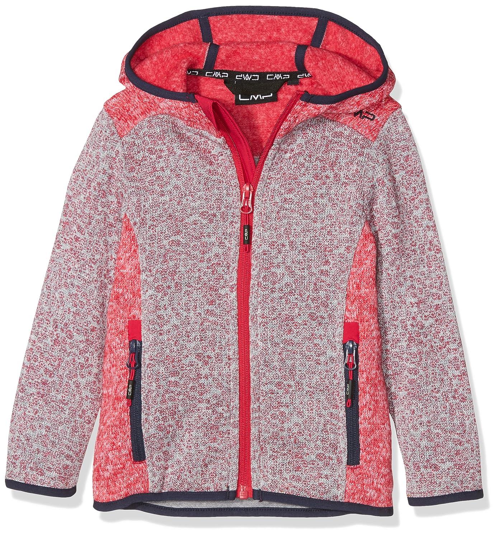 2602367e1e CMP Mädchen Strickfleece Jacke: Amazon.de: Bekleidung