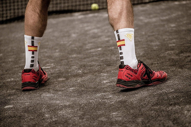 Padelfreak Calcetines Premium Spain Shine, Blancos: Amazon.es: Deportes y aire libre