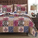 Greenland Home Fashions Charmed Quilt Set