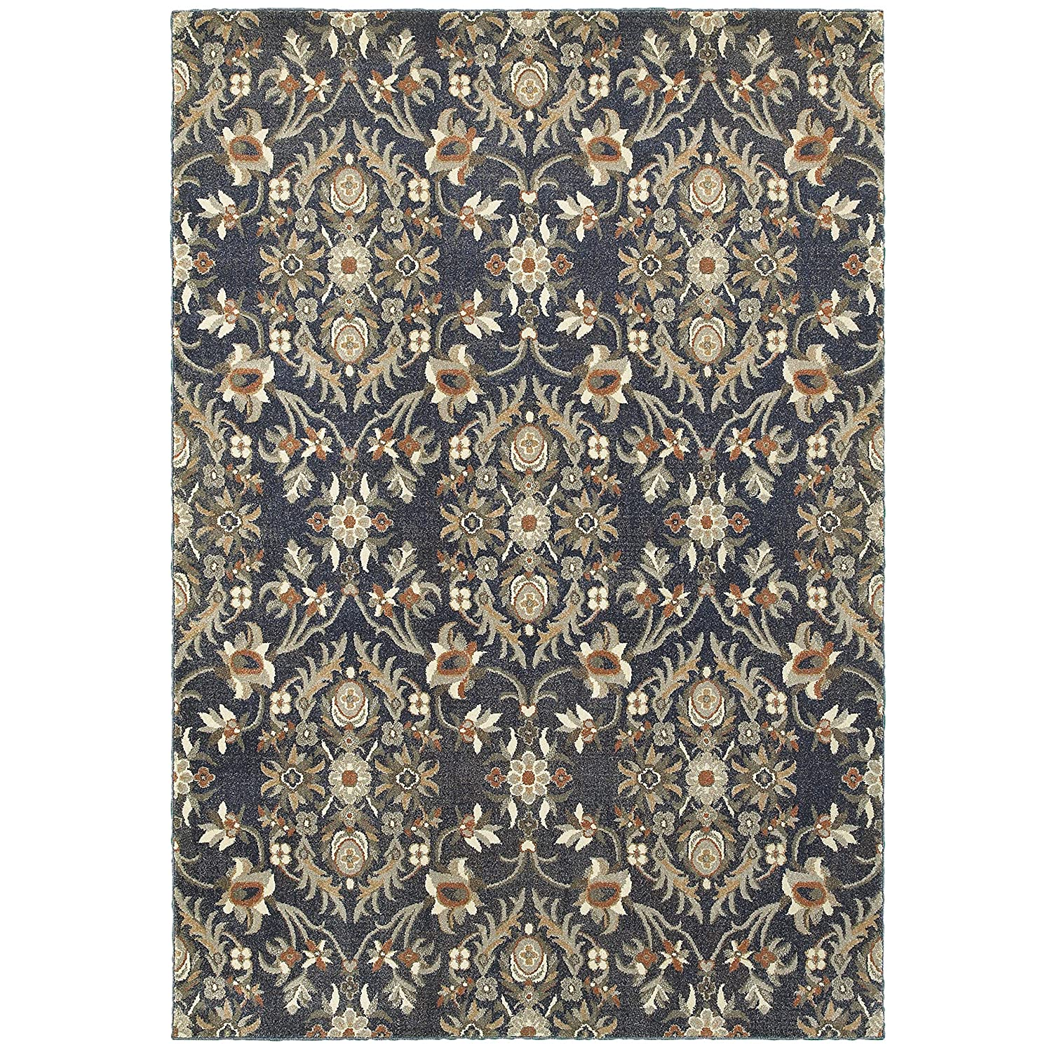 Christopher Knight Home CK-S8456 Paradise Lattice Indoor Area Rug 7ft 10in X 10ft 10in Blue Brown