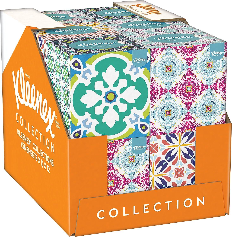 Kleenex de la colección de en forma de cubo de - 12 cajas con ...
