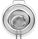 GRAN 3 Piece Stainless Steel Fine Mesh Strainer Set