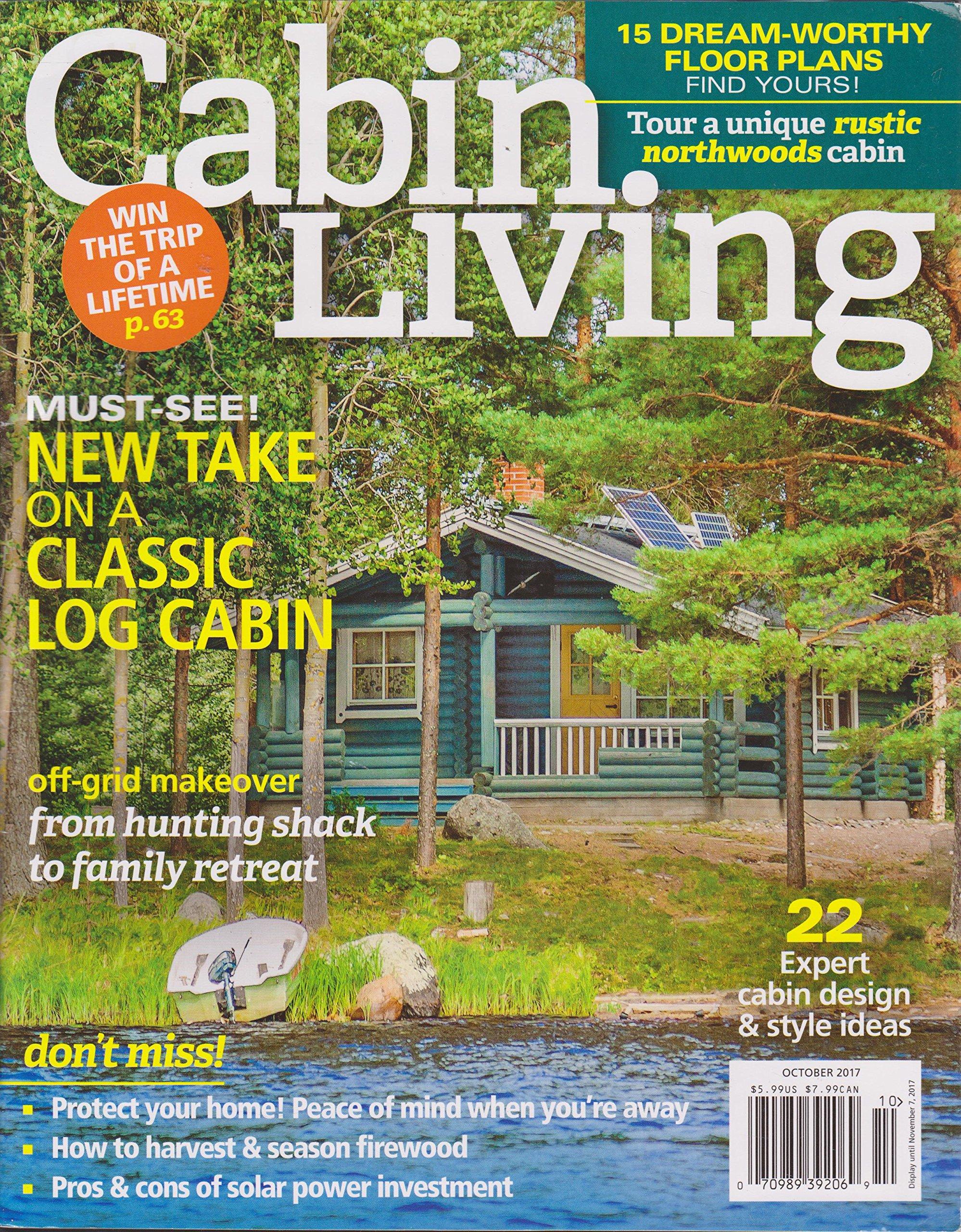 Download Cabin Living Magazine October 2017 pdf epub