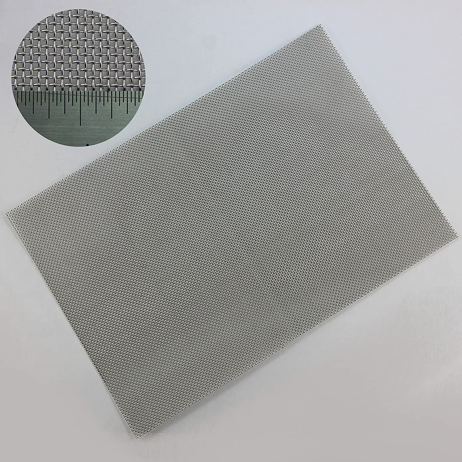 The Mesh Company's Rodent Mesh - 1mm Hole - Stainless Steel Woven Mesh - A4 Sheet 210 x 300mm - Great For Airbricks! - FAST & FREE SHIPPING