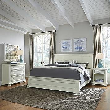 Amazon.com: Estilos de casa 5427 – 6021 Dover cama, mesita ...