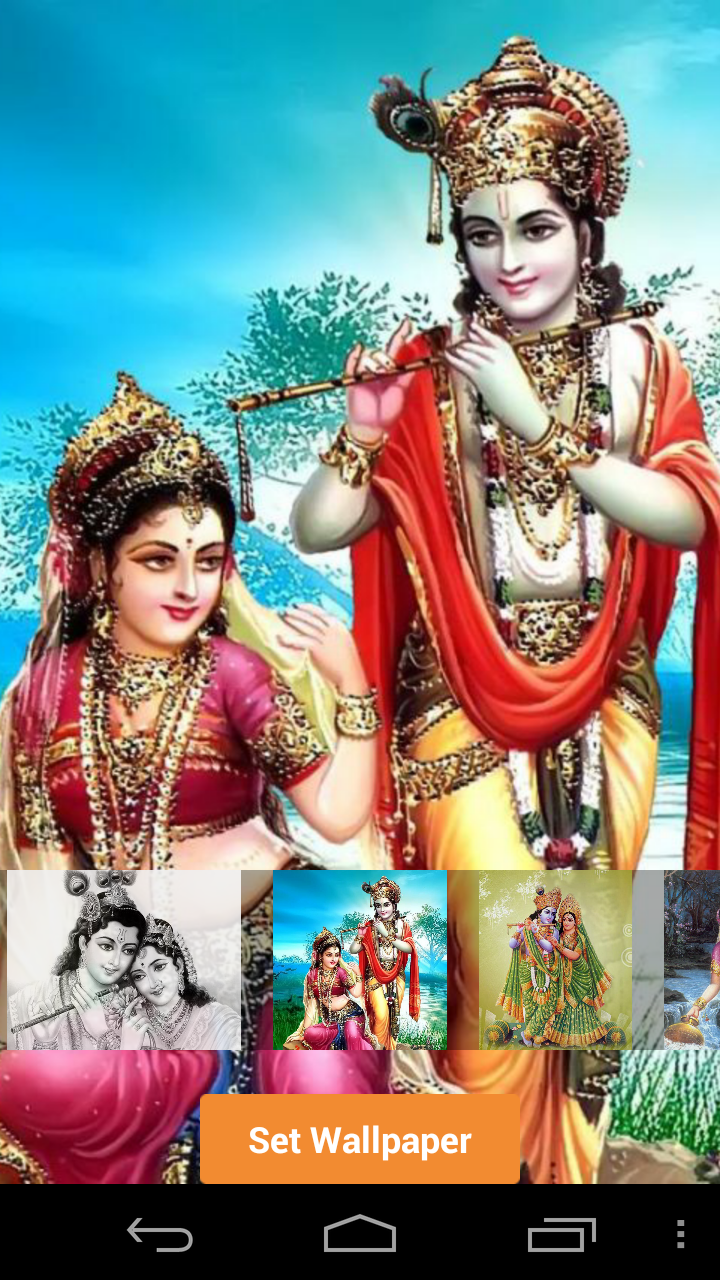 Amazon com: RADHA KRISHNA LIVE WALLPAPER: Appstore for Android