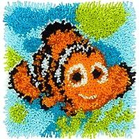 "Disney Latch Hook Kit 12""X12""-Nemo - Finding Dory"