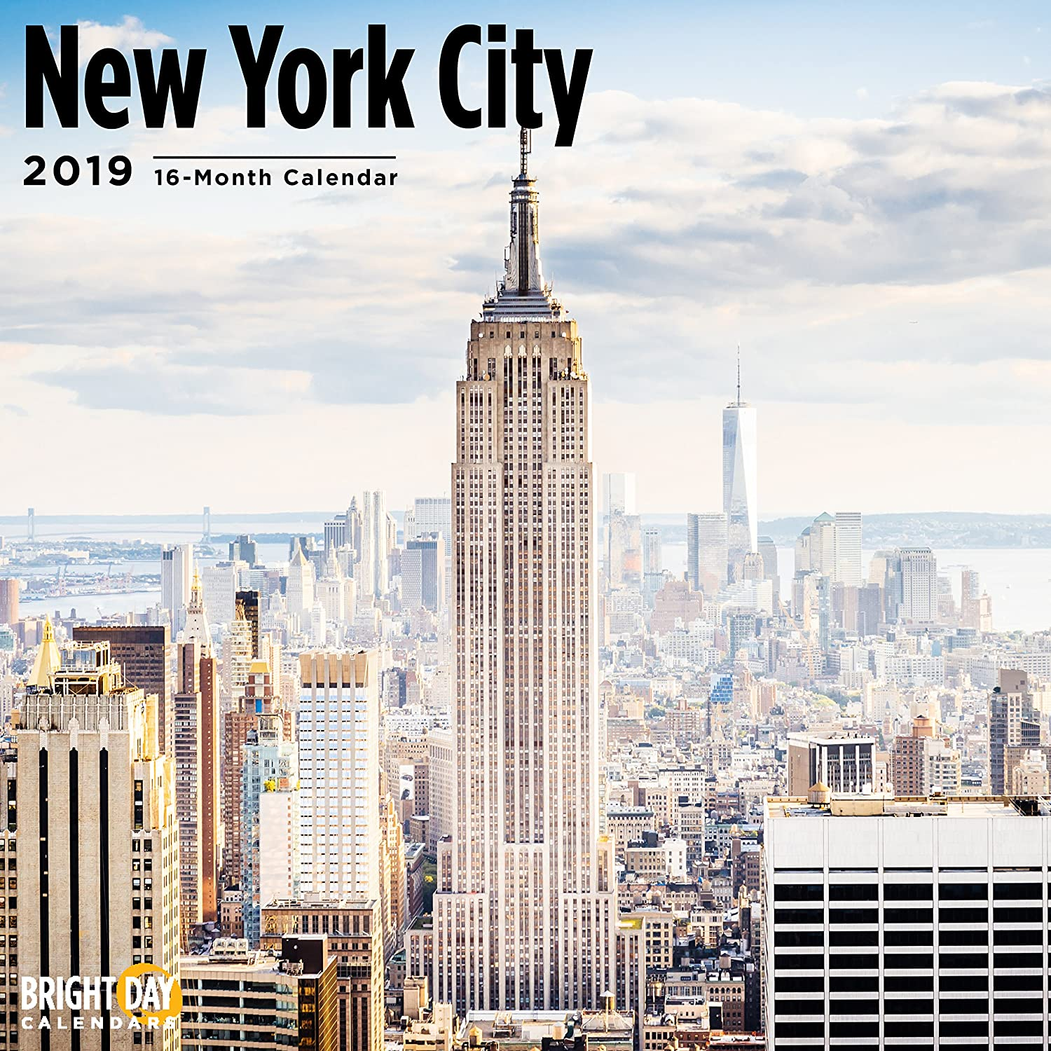 Ny School Calendar 2019-16 Amazon.com: Bright Day Calendars USA Home Towns Wall Calendars 16