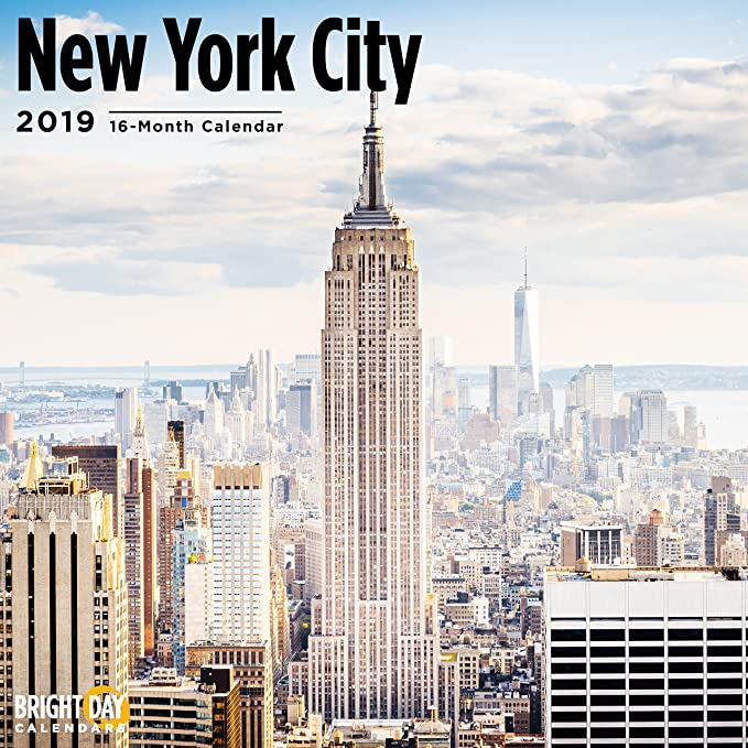 School Calendar 2019-16 Nyc Amazon.com: Bright Day Calendars USA Home Towns Wall Calendars 16