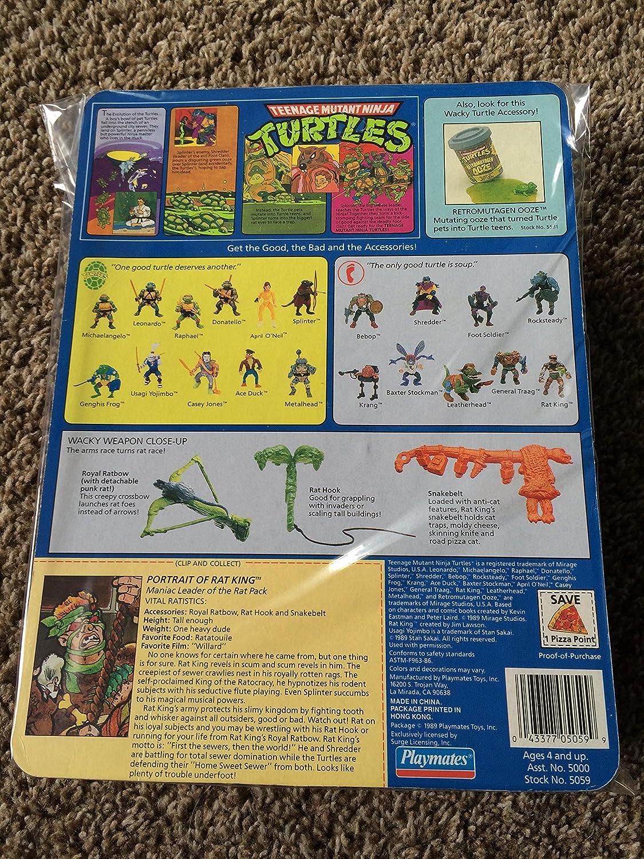 1989 Rat King - Tortugas Ninja: Amazon.es: Juguetes y juegos