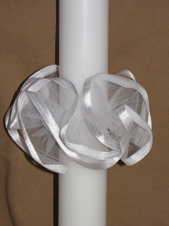 /♥/♥ Kerzenr/öckchen /♥/♥ Kerzenrock f/ür Taufkerzen//Kommunionkerzen ; 3-5 cm ; S-15