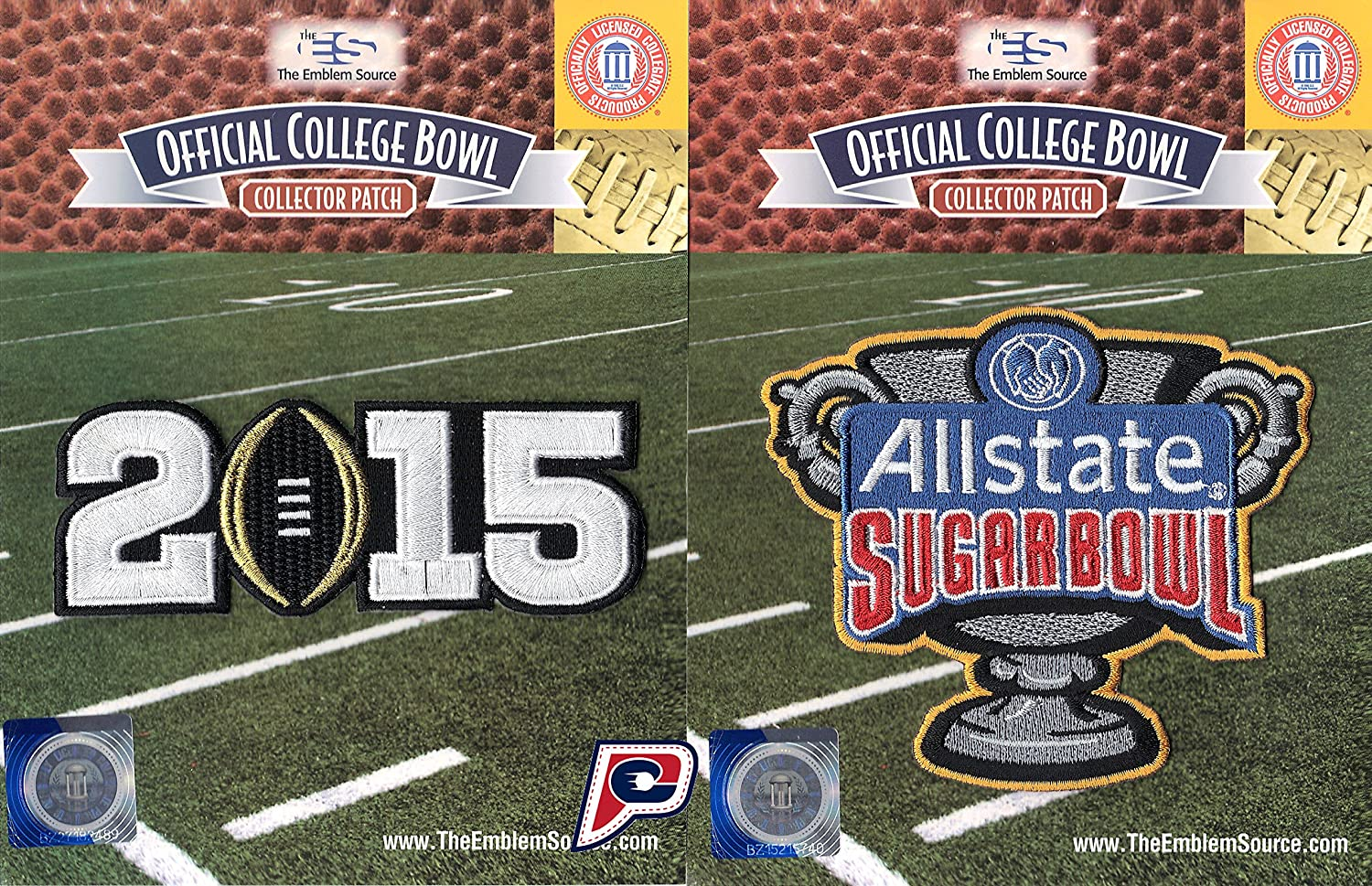 2015 College Football National Champions Ohio State Buckeyes Jersey Patch Bowl