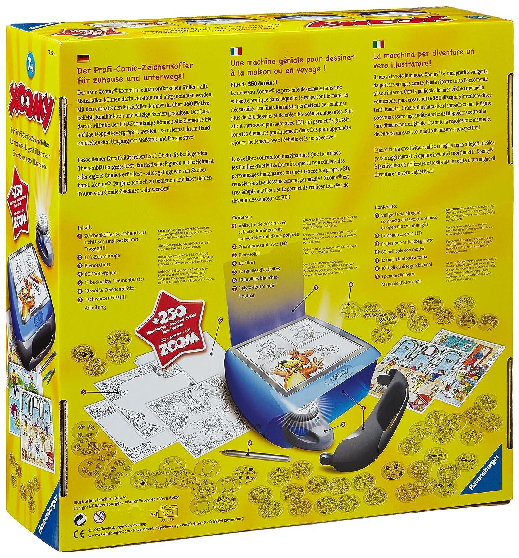 Ravensburger 18539 Xoomy Maxi Zeichenkoffer günstig kaufen Malen & Zeichnen-Sets für Kinder Bastel- & Kreativ-Bedarf für Kinder