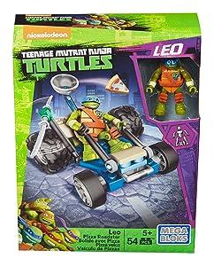 Mega Bloks Teenage Mutant Ninja Turtles Ninja Racers Leo Pizza Roadster
