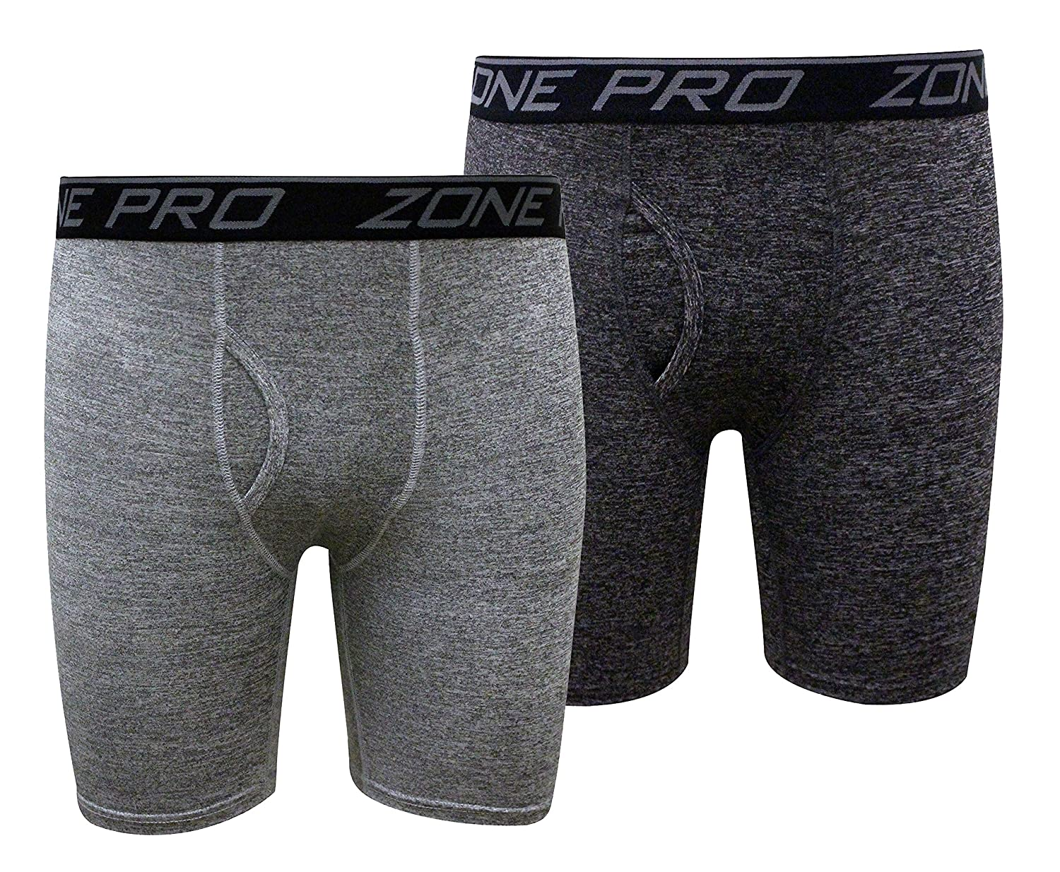 Zone Pro Athletic Men Compression Underwear Shorts - 2 Pack Combo