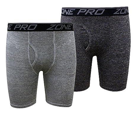 Zone Pro Athletic Men Compression Underwear Shorts - Sporty Performance  Stretch Boxer Briefs - 2 Boxerjock Pack Combo at Amazon Men s Clothing  store  ecae3d77243d