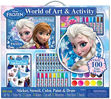 Bendon 06713 Disney Frozen Giant Art Playset