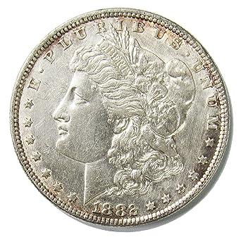 1882 $1 Morgan Silver Dollar XF EF Extremely Fine