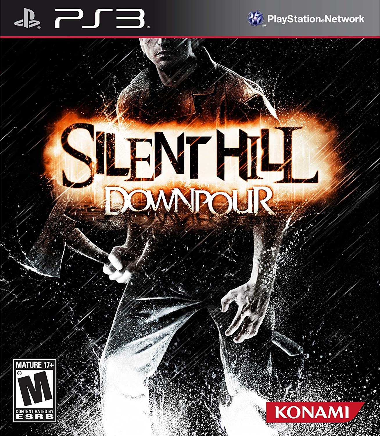 Amazon Com Silent Hill Downpour Video Games