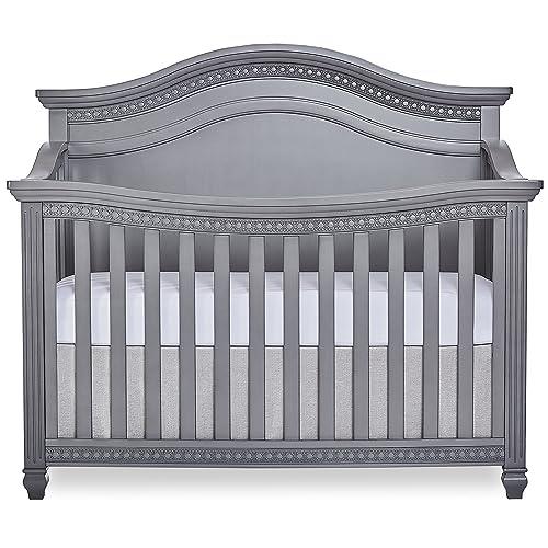 Evolur Madison 5, 1 Curved Top Convertible Crib