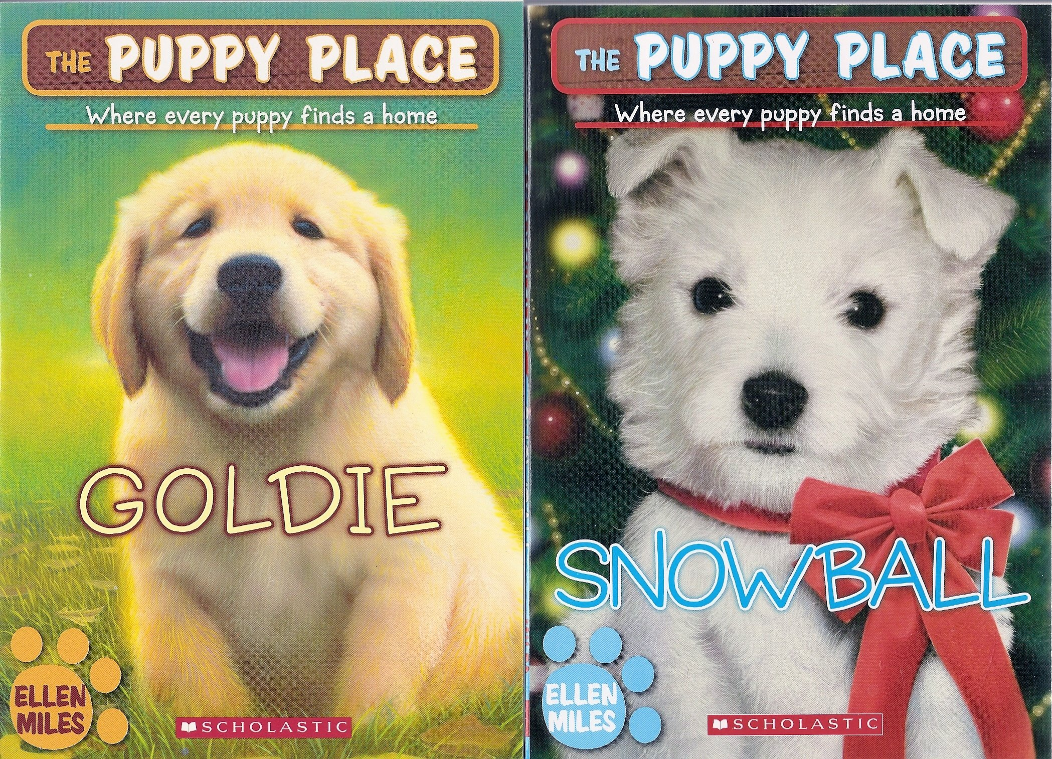 The Puppy Place Set Books 1 14 Goldie Snowball Shadow Rascal