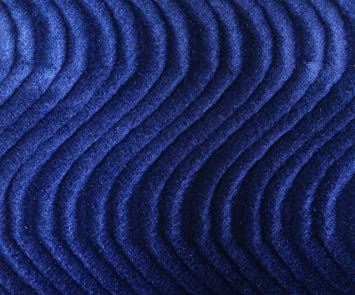 Amazon Com Wave Swirl Flocking Velvet Upholstery Fabric 60 19