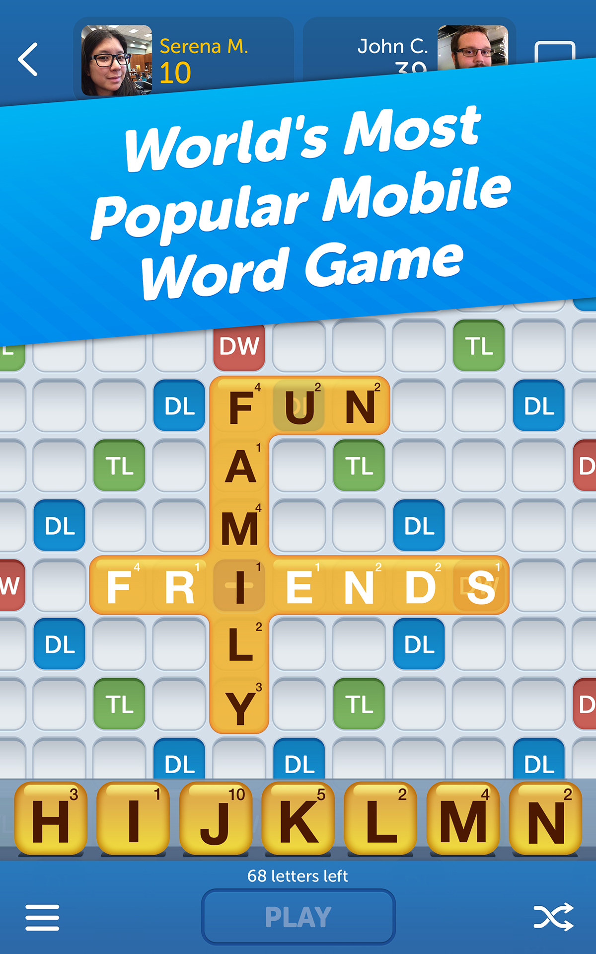 Phone Words With Friends For Android Phone amazon com words with friends appstore for android