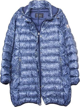 Normann Scandinavian Design Women S Down Jacket Blue Uk 22 Amazon Co Uk Clothing