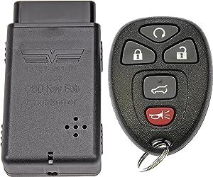 Dorman 99154 Keyless Entry Transmitter for Select Models, Black (OE FIX)