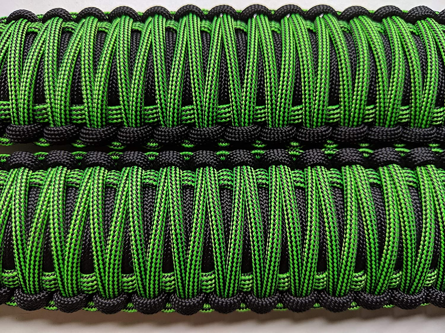 Set of 2 JL Front Roll Bar, Red Pick Your Colors Paracord Happy Jeepinit Jeep Wrangler Roll Bar Grab Handles