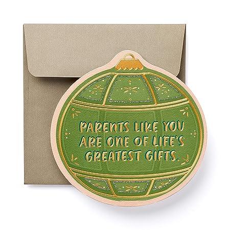 American Greetings Parents Like You Christmas Greeting Card