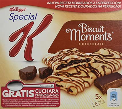 Special K - Biscuit Moment Chocolate, pack de 5x125 gr.
