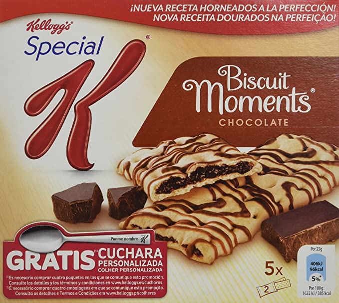 Special K - Biscuit Moment Chocolate, 5 x 25 g