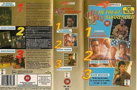 No Retreat, No Surrender [Reino Unido] [VHS]: Amazon.es ...