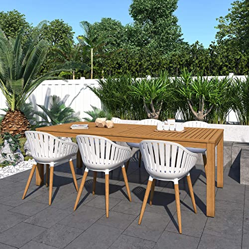 Brampton Venice 7-Piece Outdoor Rectangular Dining Table Set Ideal