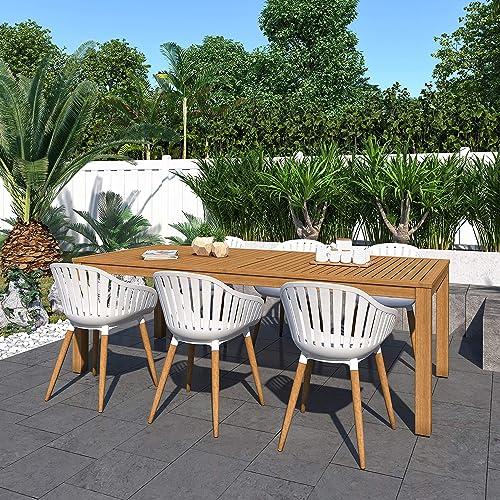 Brampton Venice 7-Piece Outdoor Rectangular Dining Table Set Ideal